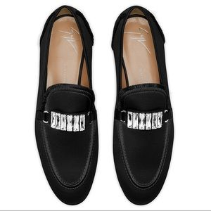 giuseppe zanotti • NEW • embellished loafers